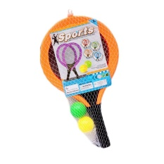 Oscar Store 2 Rackets Tennis Badminton Toys Kids Light Outdoor Gifts Training Supplies - Intl By Oscar Store.