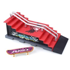 Oscar Store Finger Skateboard Scene Combination Ramp Stairs Toys Children Gifts Sports - Intl By Oscar Store.