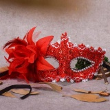 Mask Lace Party Eye Masks Flower/&Feather Masquerade Ball Carnival Fancy Dress