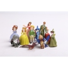 Party Sofia the First Cake Topper Figures Play Set of 12pcs - intl