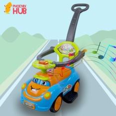 Phoenixhub Happy Day Ride On Toy Car Kids Children Push Stroller (blue Orange) By Phoenix Hub.