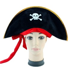 Pirates Of The Caribbean Halloween Costume Party Props Cosplay With Red Band - Intl By Lagobuy.