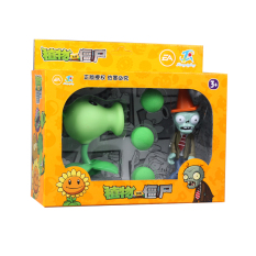 PLANTS VS.ZOMBIES full set can be transmitter plant toys Dolls Accessories Dolls