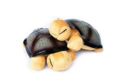 Plush Twilight Turtle Night Light (Brown/Orange)