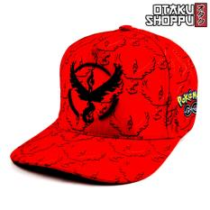 Pokemon Go Team Valor Unisex Fashionable Snapback Cosplay Cap (red) By Otaku Shoppu.