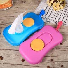 Portable Baby Kid Wipe Storage Box Travel Wet Wipes Holder Dispenser Organizer 4 - Intl By Globedealwin.