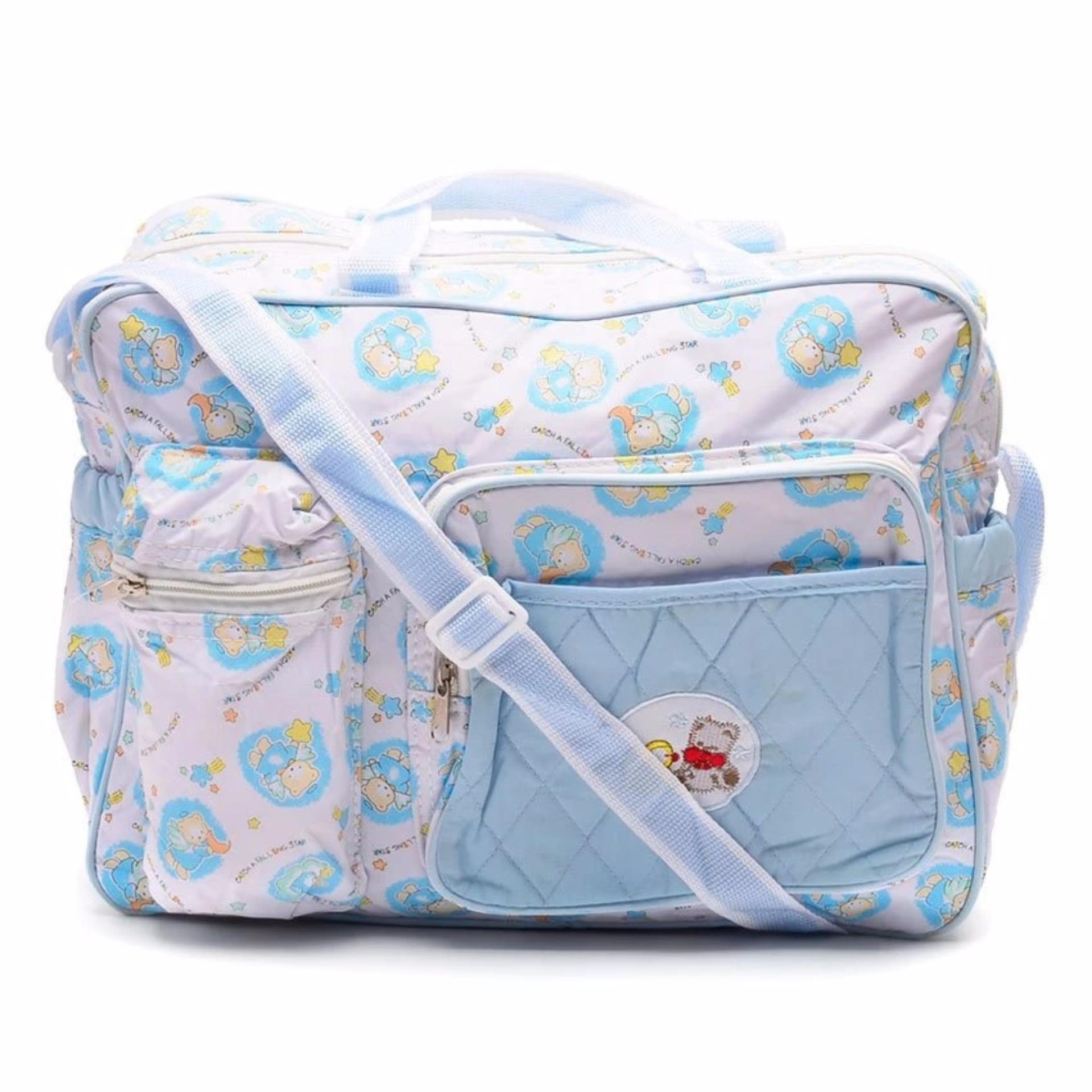 Royal Baby Bear Side Nursery Bag (Blue)