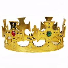 Royal King Crown Headdress Gold Masquerade Show Props By Bigtokyo Online Shop.