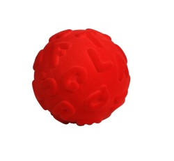 Rubbabu Alphalearn Ball Upper Case (Red)