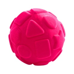 Rubbabu Shapes Ball (Pink)