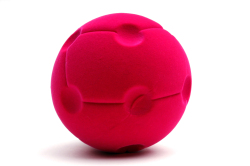 Rubbabu Spaceship Ball (Pink)