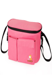 S & F Mummy Bag Baby Waterproof Trolley Bag Hot pink - Intl