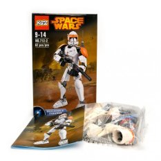 Space Wars White Armour Lego Style No. 712-2 (white) By Appliance Galore.