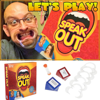 Speak Out Funny Game Christmas Party Family Toy - intl