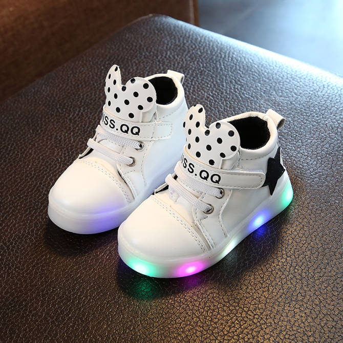 Sports women smallness tong deng xie New style kids shoes