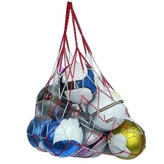 Sports Portable Basketball Football Volleyball Rugby Big Nylon Bold Net Mesh Bag - Intl By Jomoo Store.