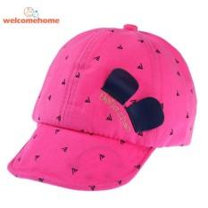 05bda4303b1 Spring Kids Pure Cotton Smile Face Baby Baseball Cap Soft Brim Hat - intl