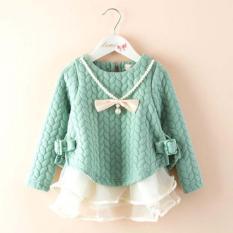Spring New Children S Clothing Korean Girls Folder Silk Thicken Pink Princess Children S Dress Jrr018 - Intl By Baby And Kids Store.