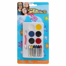 Stargazer 6 Face & Body Paint Sticks Crayons Set/Kit Halloween Makeup Painting - intl