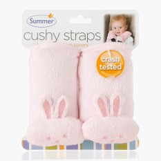 Summer Bunny Cushioned Strap Covers (pink) By The Sm Store.