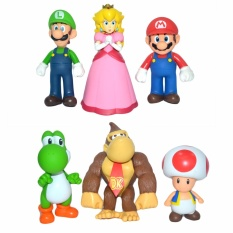 Super Mario Large 6pack Collectible Toy