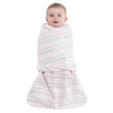 Halo Sleepsack Swaddle 100% Cotton Muslin - Pink Chevron New Born (sleep  sack 98bdd8ef0