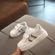 New Style New Small Children s Athletic Shoes Men And Women Korean Style  Leisure White Shoes Students 8b6f412ce222