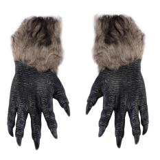 Werewolf Wolf Paws Halloween Cosplay Gloves Creepy Costume Theater Toys By Warmness Inn.