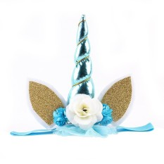 Womdee Unicorn Headband Girls Hairband For Party Wedding Cosplay Costume Photograph - Intl By Womdee.