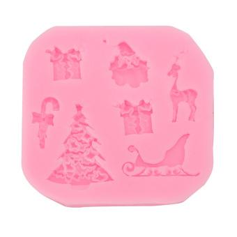 XMAS Silicone Fondant Cake Mold Christmas Chocolate Christmas Tree - INTL