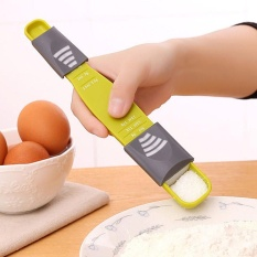 Xudzhe Elife Double End Eight Stalls Adjustable Scale Measuring Spoon Kitchen Tool Creative Metering Spoon - Intl By Xiandizhihechang.