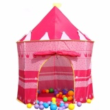 Tickle Kiddie Castle Tent (Pink) image on snachetto.com