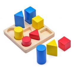 Young Mindz Geometric Peg Board (Multicolor)