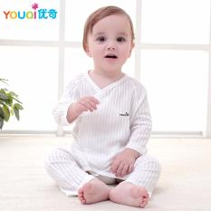 f1ff5ad79d4f YOUQI Newborn Baby Clothes Cotton Cute Belt Rompers 3 6 9 Months Baby Girl  Boy Clothes