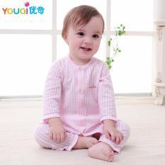 35ef0e05e4d4 YOUQI Unisex Baby Clothes Summer Boys Clothing Set Girls Top Pants Suit Toddler  Infantil Soft Pyjamas