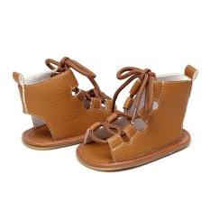 1a8642809099 YY High Quality 0-24 Months Unisex Baby Girls Boys Summer Flip Flops  Leather Gladiator