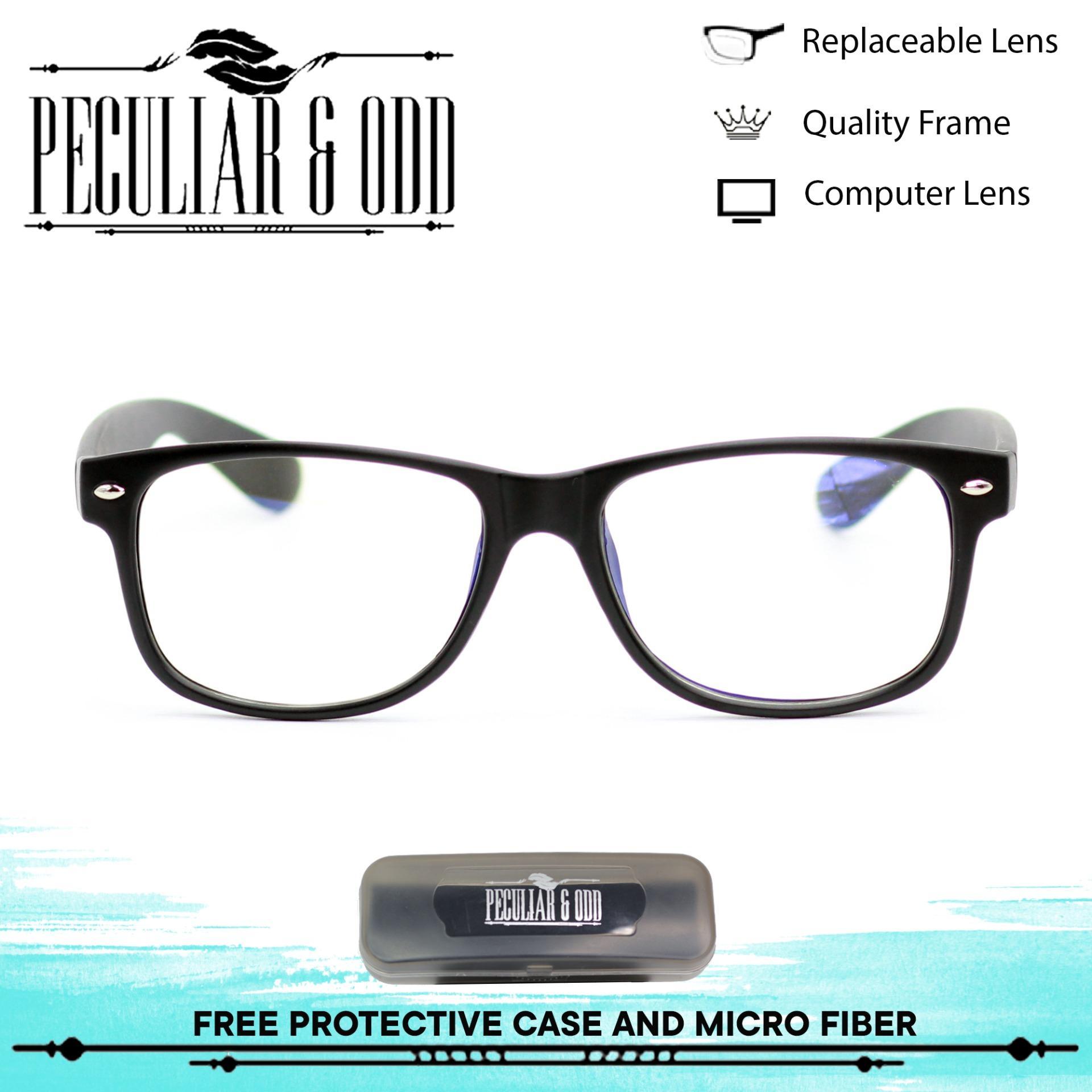 Peculiar Square 8081 BlackClear Anti Radiation Computer Eyeglass Optical  Replaceable Unisex Eyewear 2 3cc8bb172
