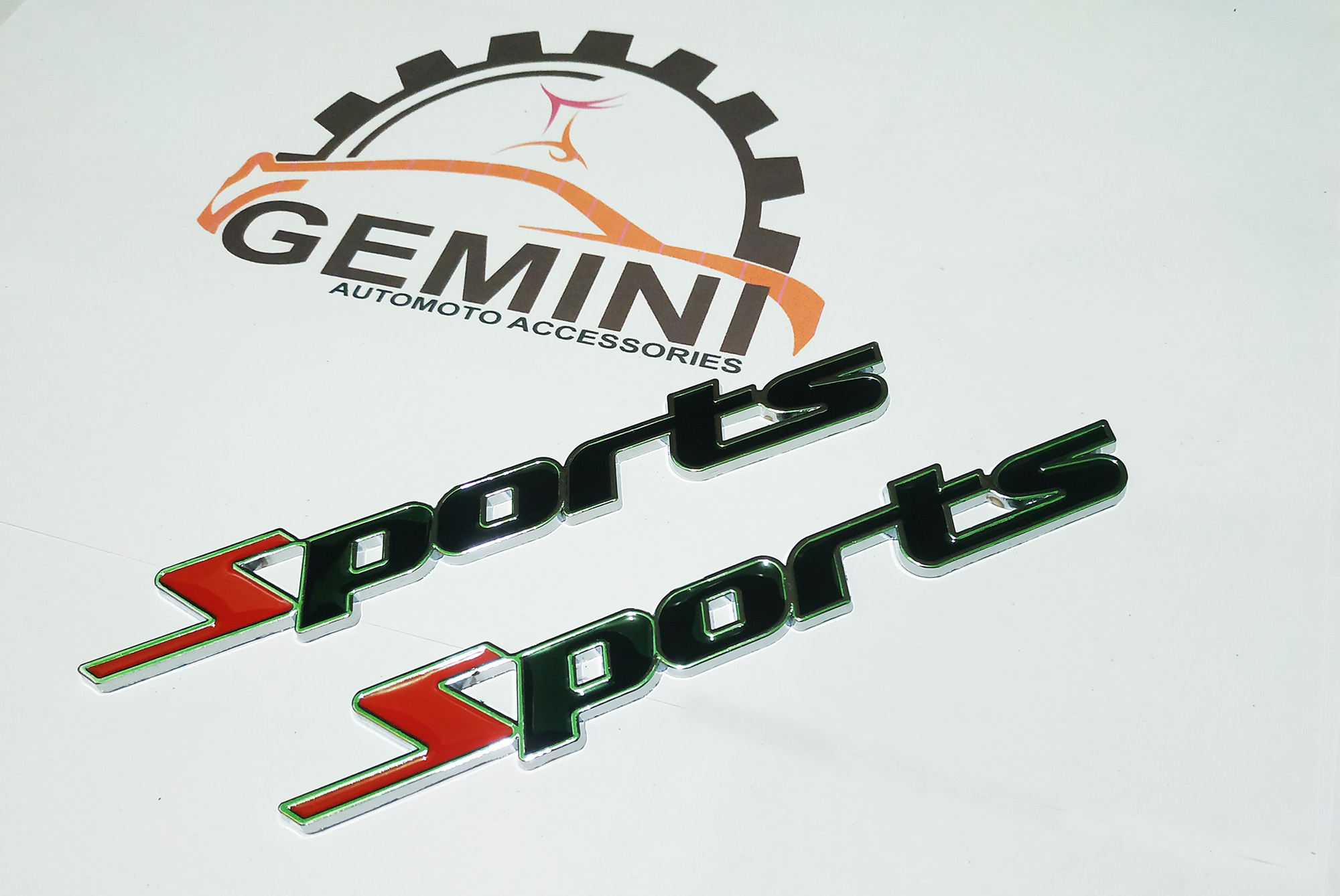 3D TURBO Word Letter Sport Sticker Metal Badge Emblem Car Styling Decal Logo jp