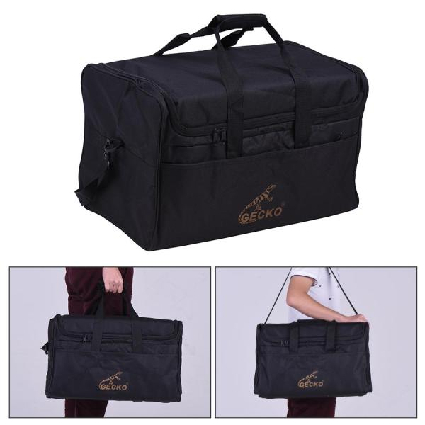 GECKO L03 Standard Adult Cajon Box Drum Bag Backpack Case 600D 5MM Cotton Padding with Carry Handle Shoulder Strap