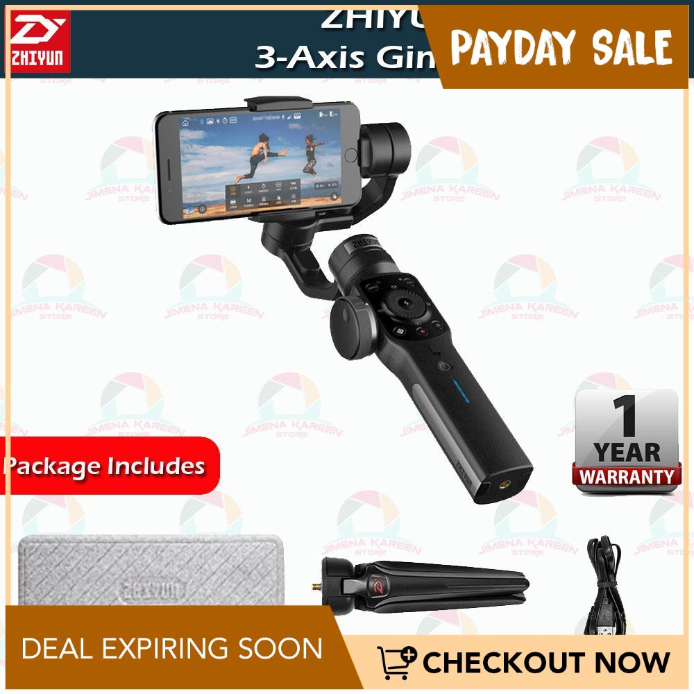 Zhiyun Smooth 4 3 Axis Handheld Gimbal Stabilizer for Smartphone 3 5inch to  6inch in Dimension for IPhone 7 Plus 6 Plus Samsung Galaxy S8 S7 S6 S5
