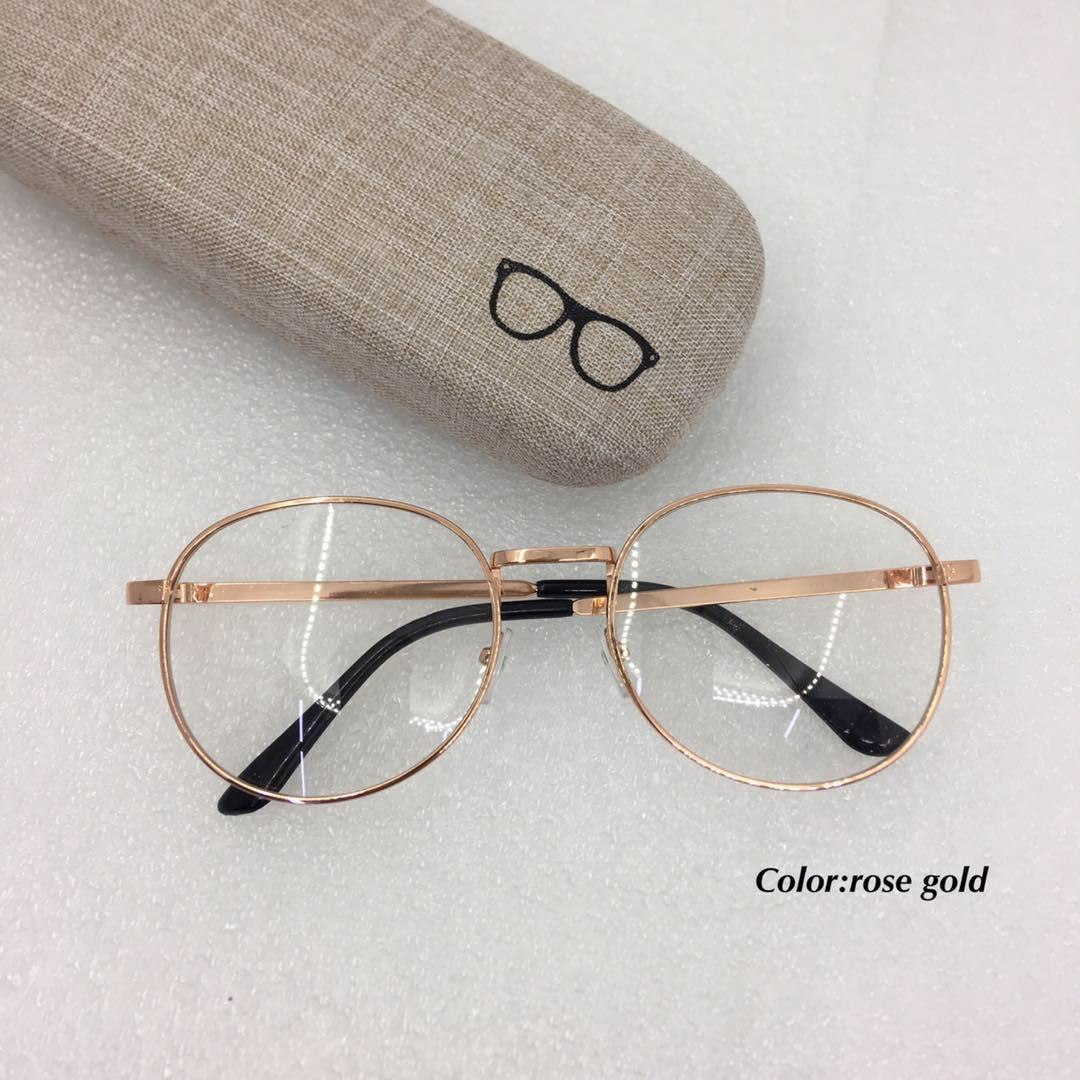 4d0051e95d1f Henry sy sunnies metal frame eyeglass/replaceable lens /2019# with hard case