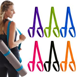 Đai Tập Yoga Thể Thao Cotton 12 Màu Điều Chỉnh Được, Tập Thể Dục Dây Đeo, Yoga Mat Dây Đeo Dây Đeo Vai thumbnail