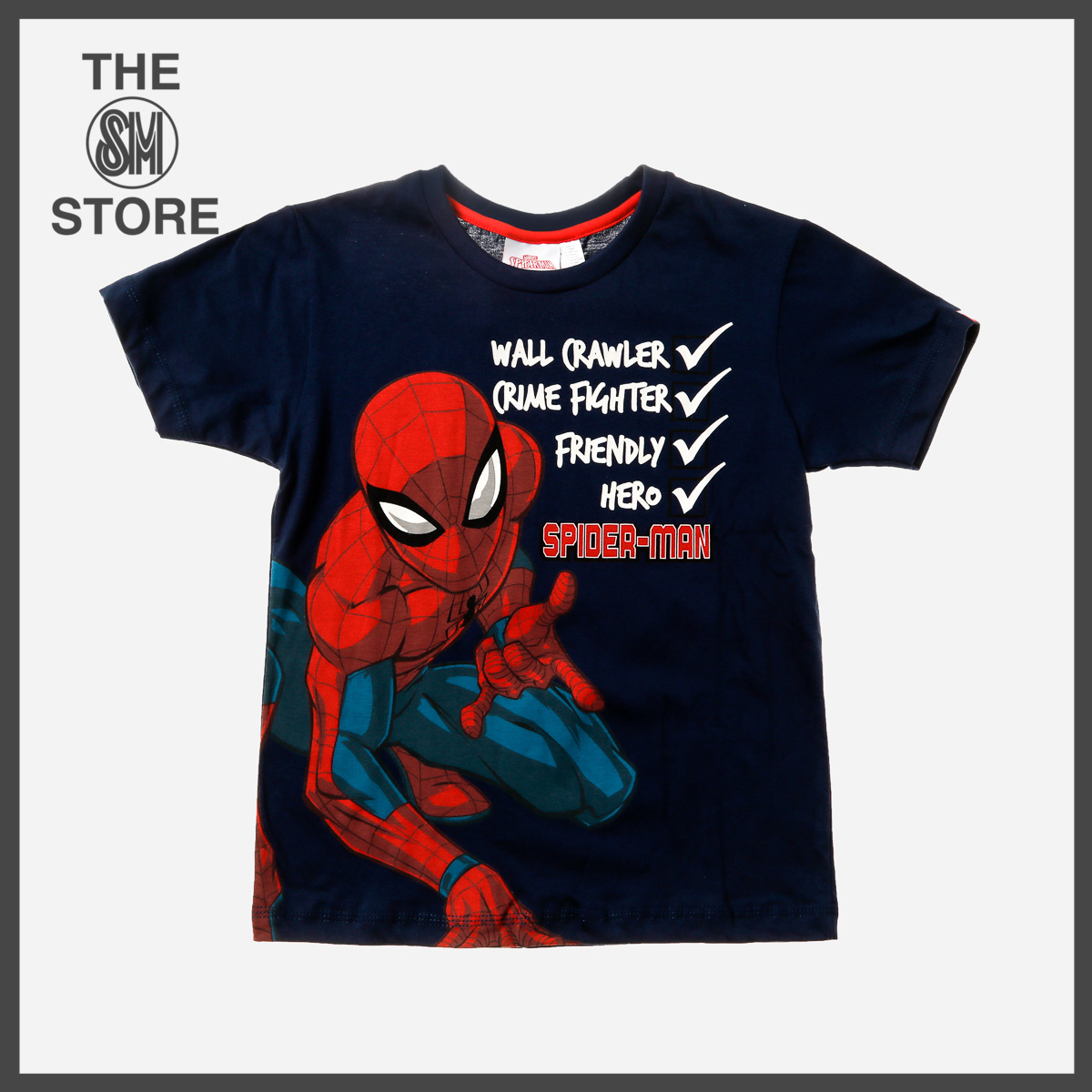 SPIDERMAN Navy T-Shirt NWT