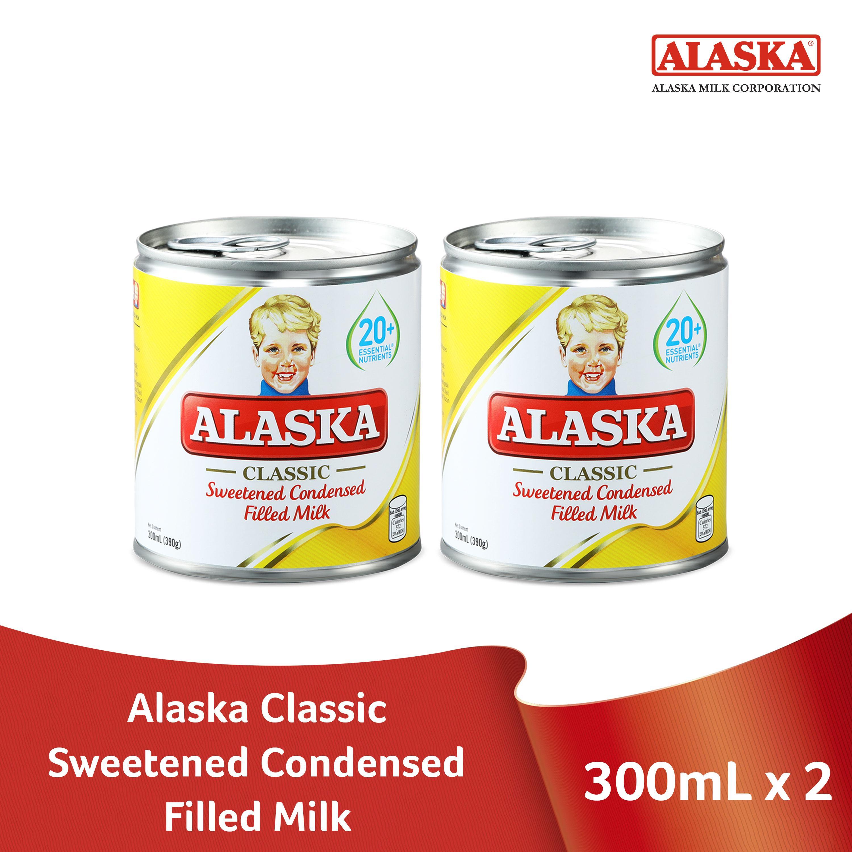 Alaska Sweetened Condensed Filled Milk 300ml Set Of 2 By Alaska.