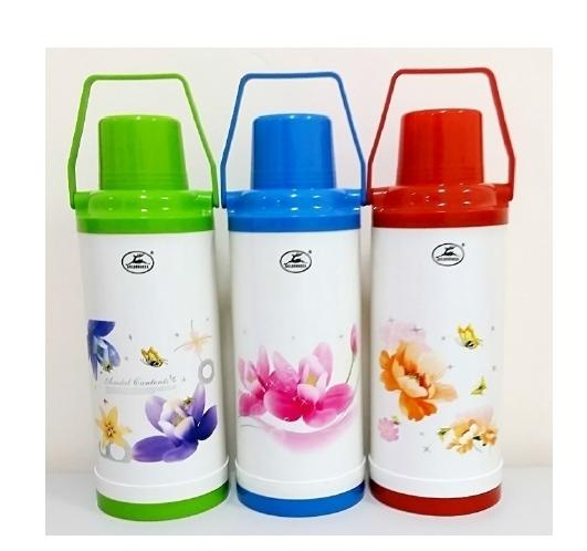 Plastic Thermos 2.2l Thermal Bottle Vacuum Flasks Vacuum Containers Gd-976 Golden Deer By Lucas Houseware Collection.