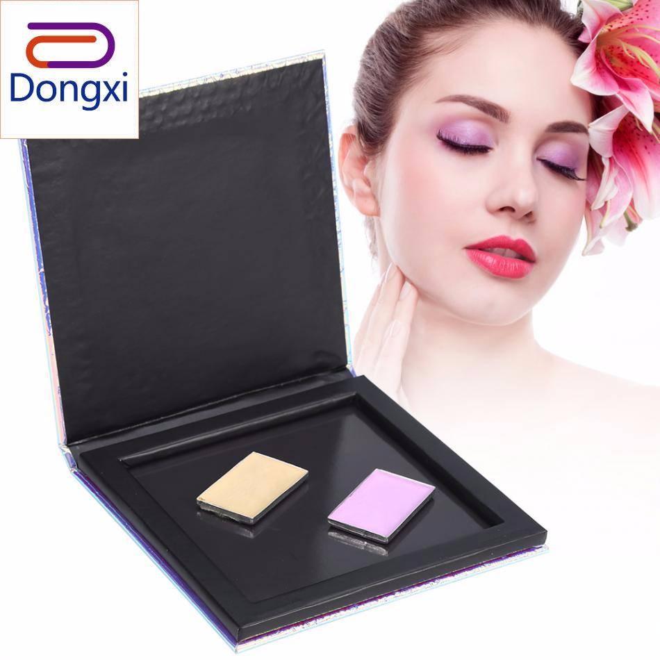 Dongxi Kosong Magnetik Riasan Pemulas Mata Palet Glitter Ikan Skala Blush Bedak Eyeshadow Makeup DIY Kotak