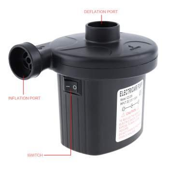 220v Portable Dc Electric Air Pump, Inflator Deflator Electric Pump By Tongs Store.