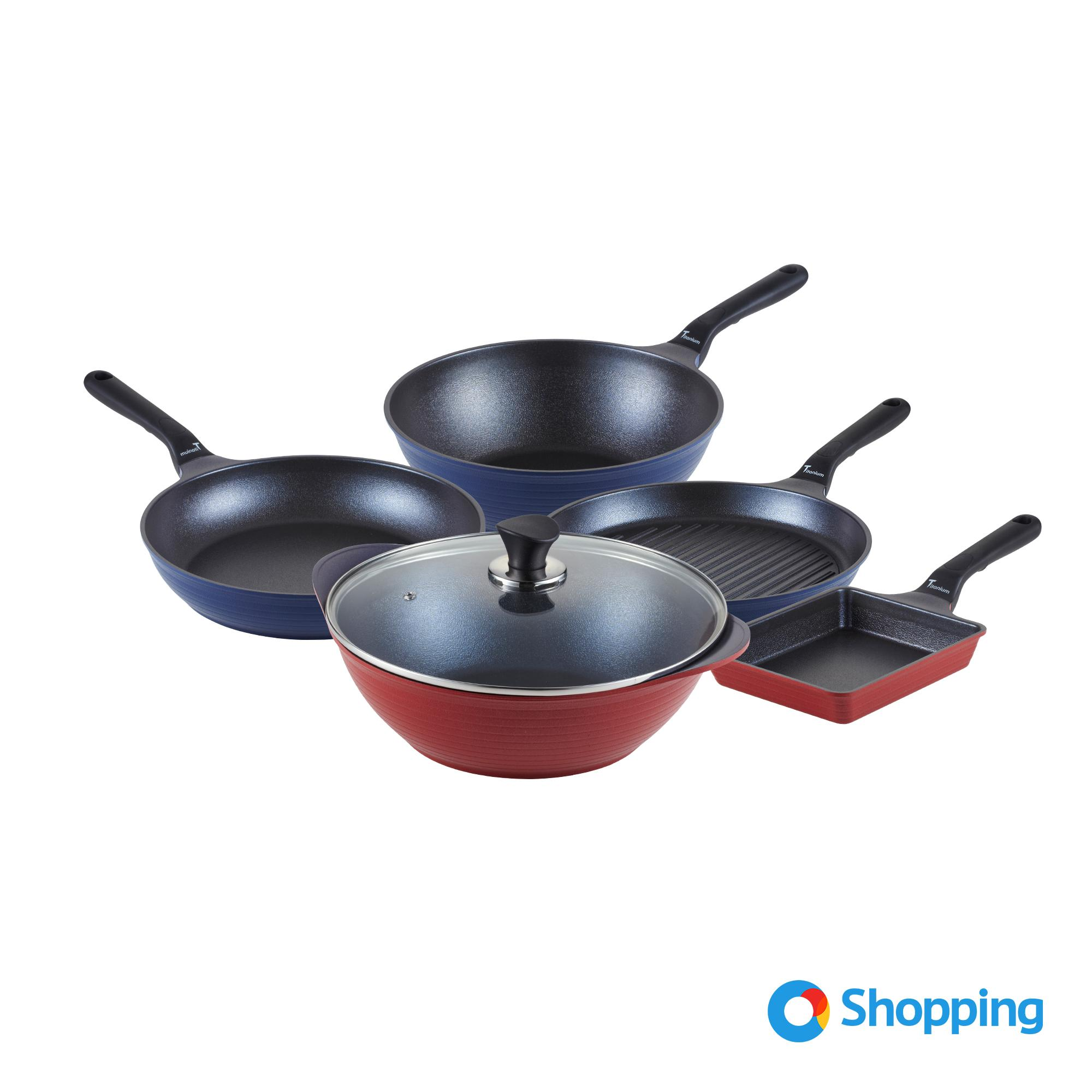 ilo Titanium Cookware Set