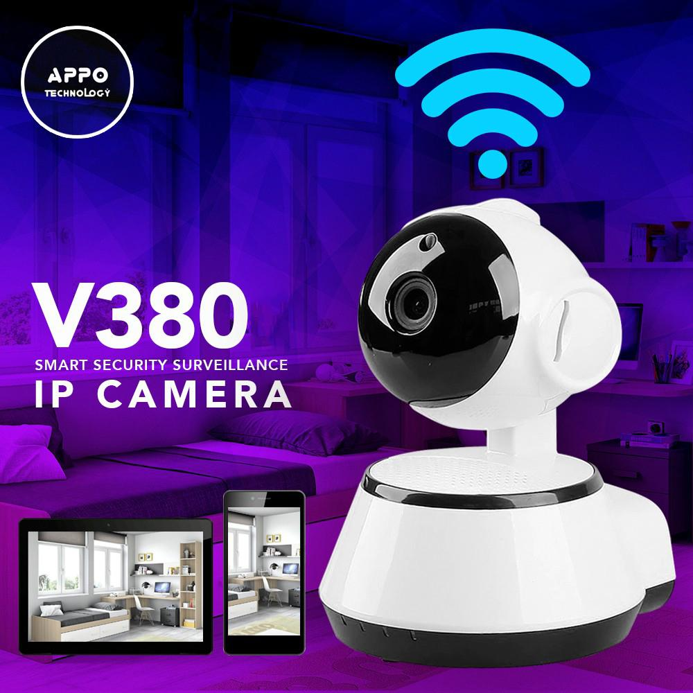 APPO V380 Home Wireless Smart Security Surveillance IP Camera (White)