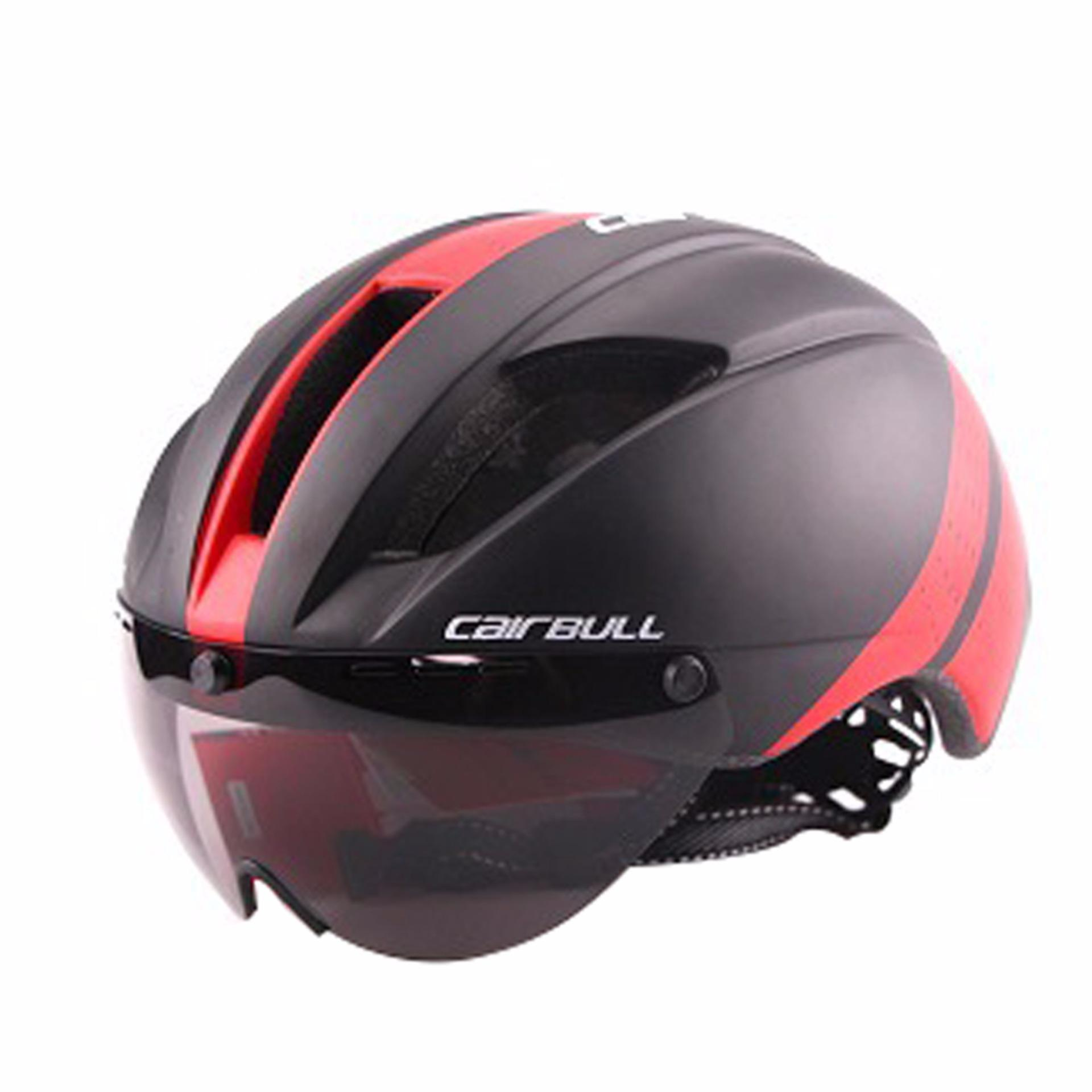 6675d41dd09 Lightweight Unisex Cycling Helmet with Detachable Magnetic Goggles  Aerodynamic Helmet for Motorcycle Bike Riding